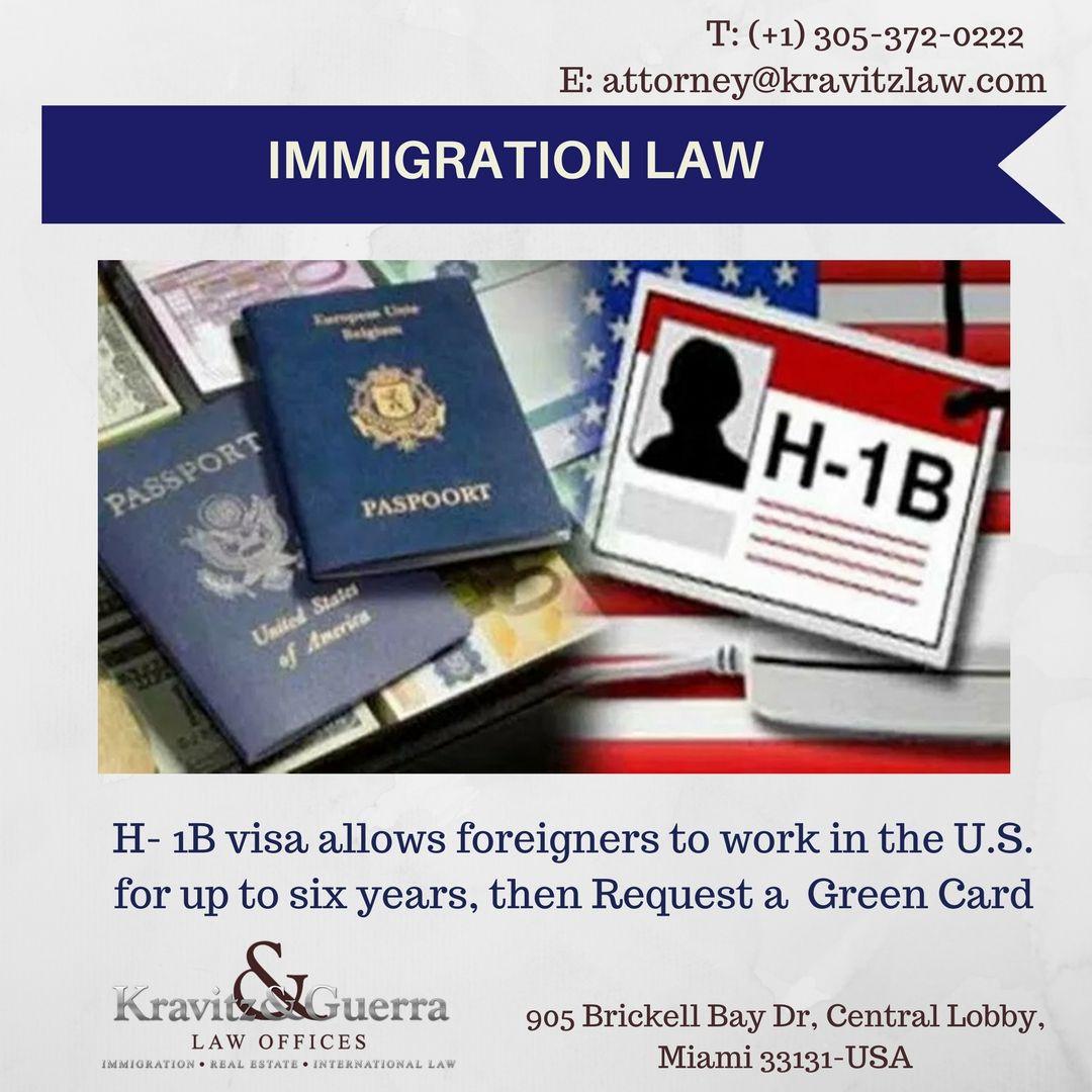 H1b visa work visa for up to six year work visa law