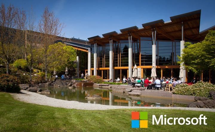 Lunchtime At The Microsoft Redmond Campus