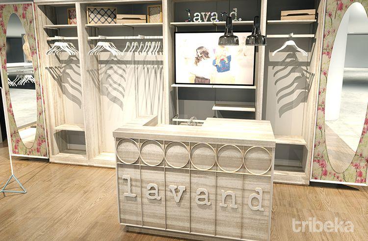 Diseño espacios comerciales Lavand 02 | Tribeka Retail | Diseño de ...