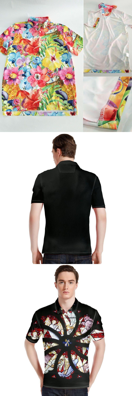 Forudesigns Men Polo Shirt Wholesale Summer Tops Tees Christian