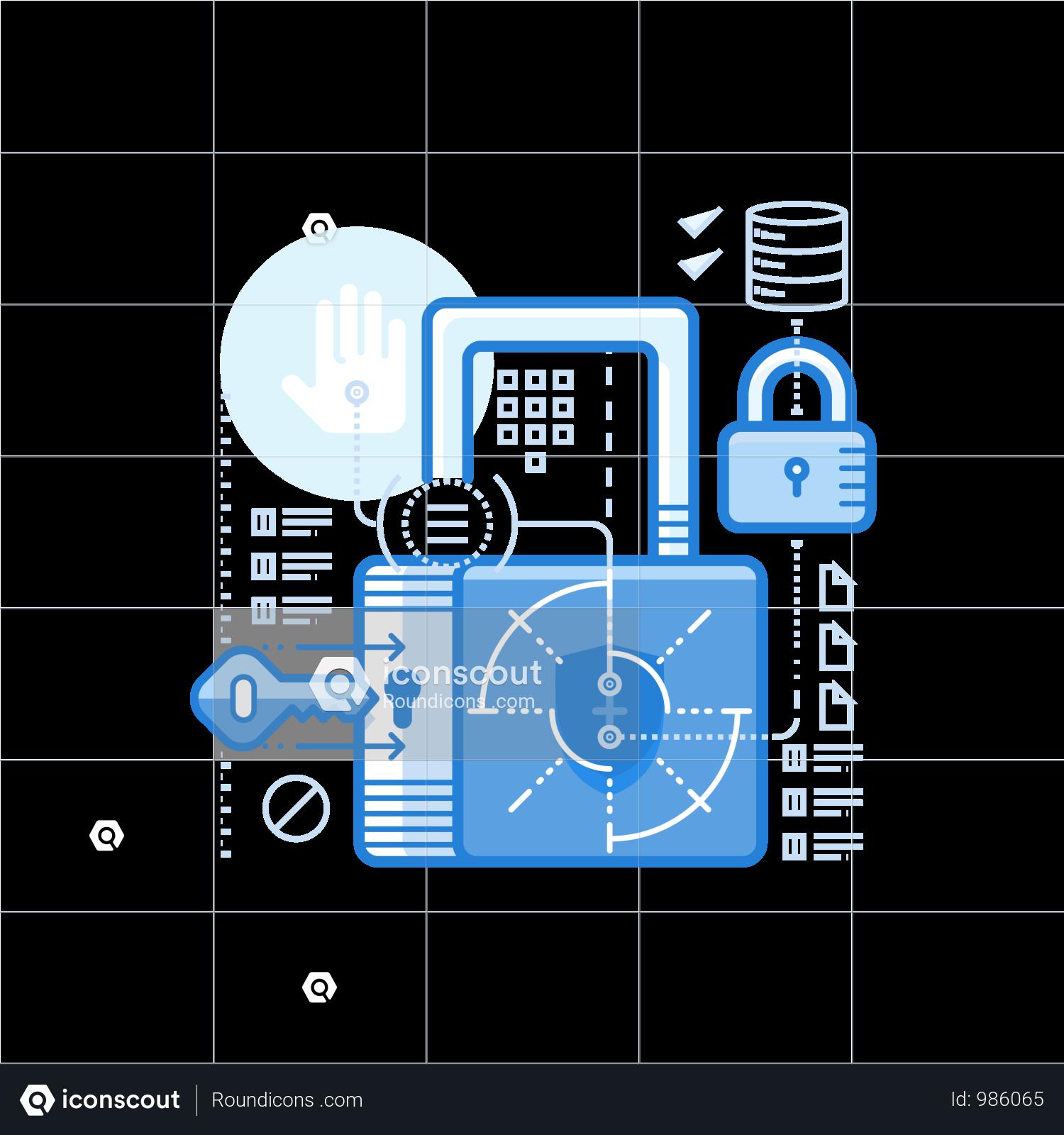 Premium Security Concept Illustration Download In Png Vector Format Web Development Design Concept Illustration