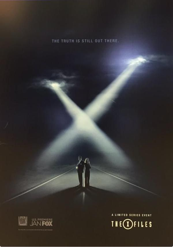 The X Files New Poster And Premiere Episode Impresses Audeince