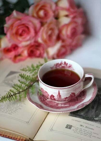 Time for tea and reading.
