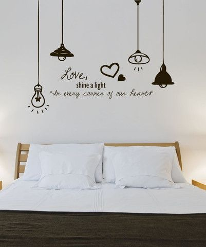 Vinyl Wall Decal Sticker Love Light 1324 I Love This One Too Wall Decals For Bedroom Wall Painting Decor Wall Decals Living Room