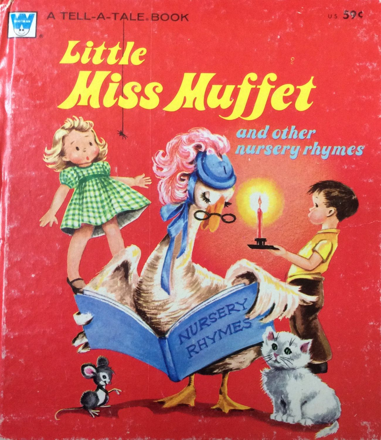 Little Miss Muffet And Other Nursery Rhymes Tell A Tale