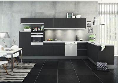 10 fotos de cocinas peque as en forma de ele ideas - Cocinas pequenas en forma de ele ...