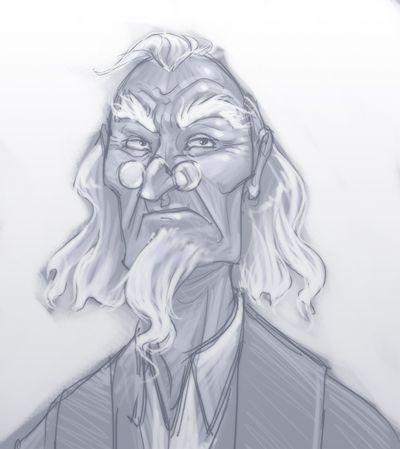 Professor Binns Estilo Disney
