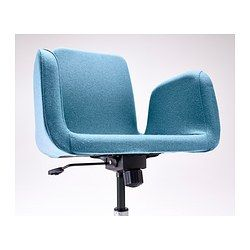 Patrik Swivel Chair Ullevi Blue Ikea