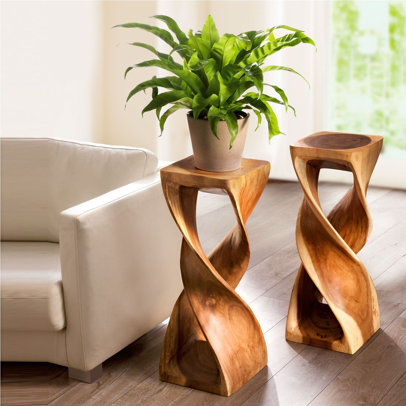 Pinterest & Large Double Twist Stool (1 stool) Fancy wooden sculpture ...