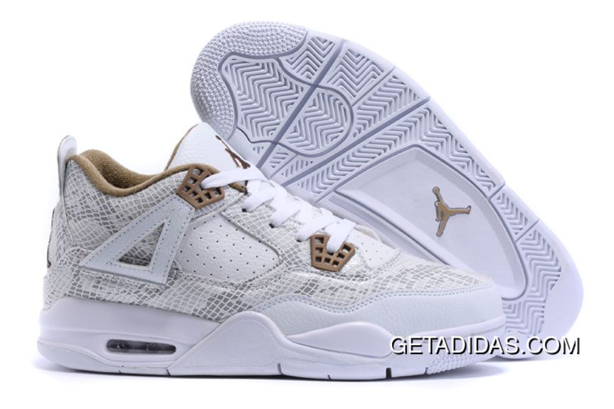 online retailer 1485c 3edc8 Air Jordan 4 (IV) White Snakeskin 2018 For Sale, We just saw a new sneaker  pop up at Sneakers Addict that might interest you lot so we ll quickly  share it ...
