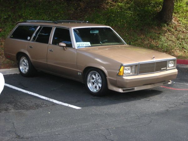 1980 Chevrolet Malibu Station Wagon Chevrolet Malibu Station