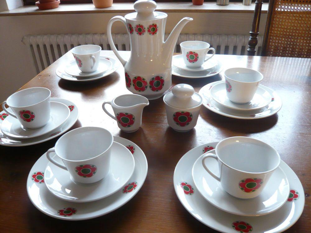seltmann weiden prilbumen kaffee service retro 70er vintage porzellan anja doris in antiquit ten. Black Bedroom Furniture Sets. Home Design Ideas