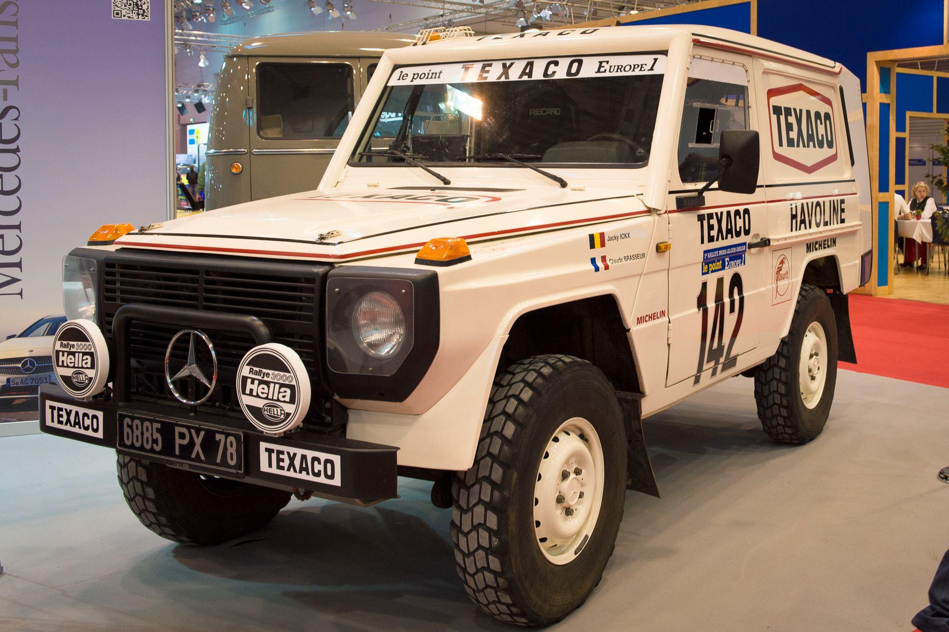 Mercedes g rallye