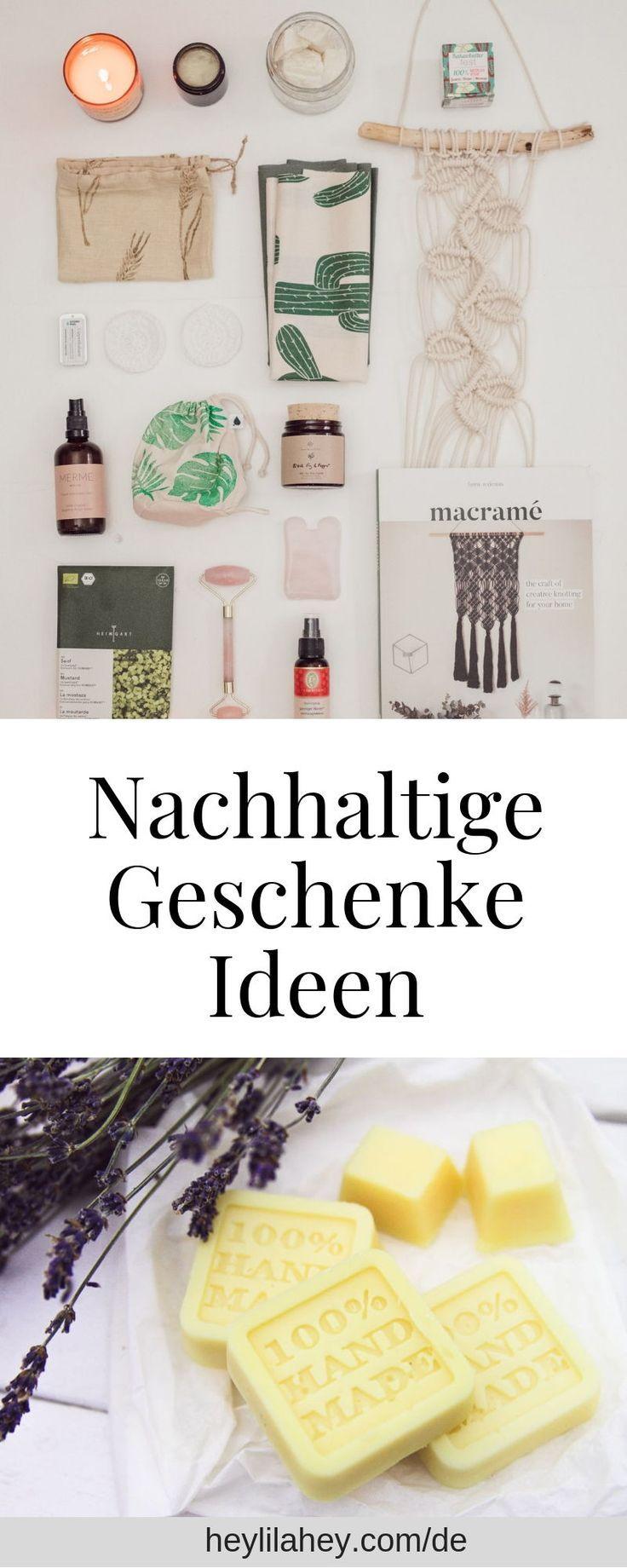Photo of Sustainable gift ideas zero waste, natural cosmetics & charity – heylilahey.
