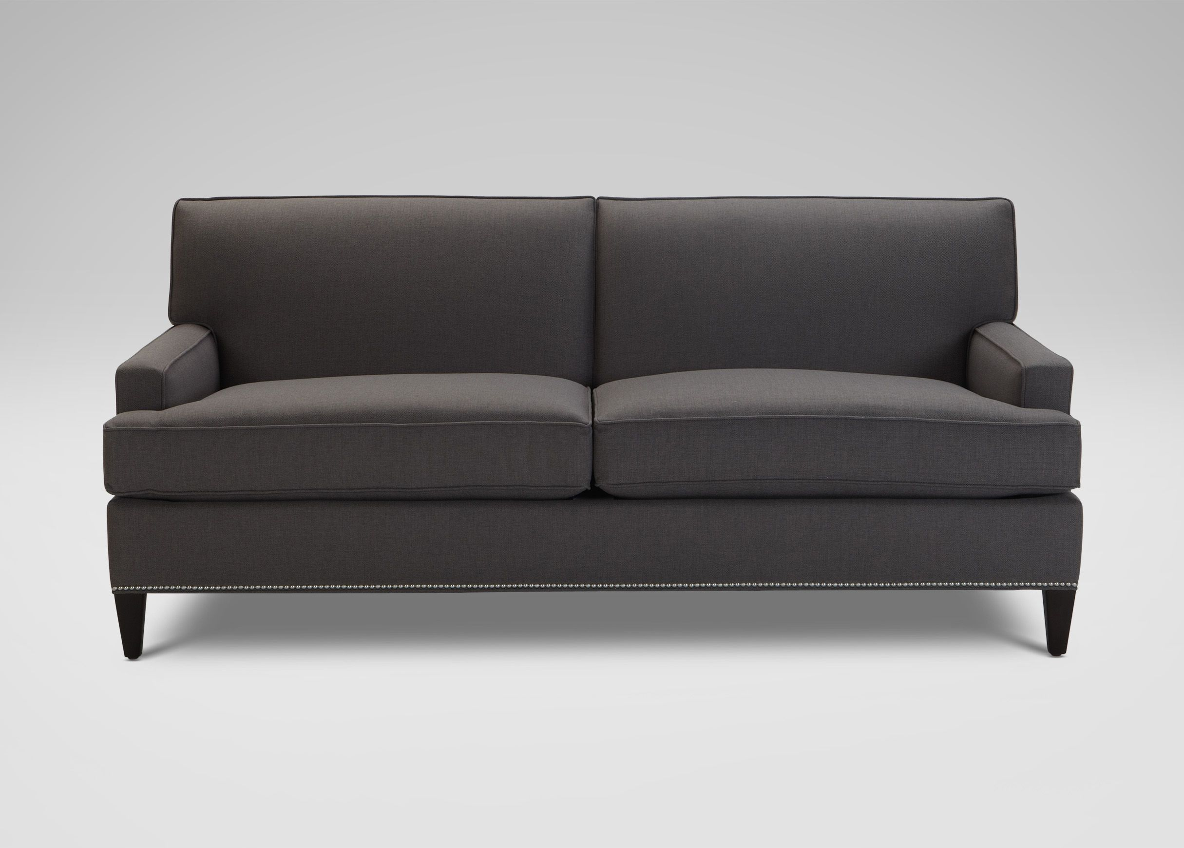 Pewter Sofa Bed Florida Corner Reviews Bryant Mack Ethan Allen Home Living Room