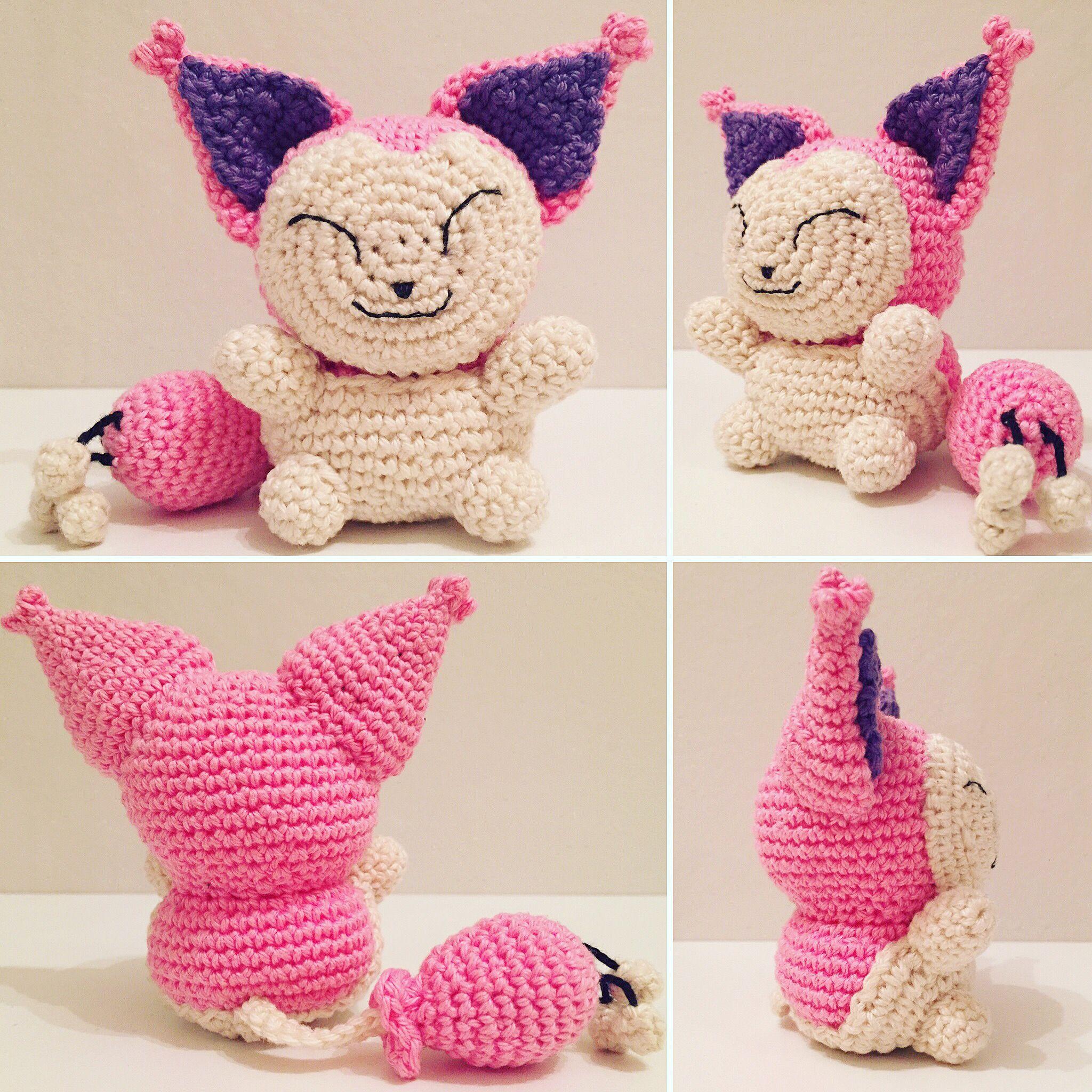 Pokemon Eneco / Skitty häkeln / crochet | crochet pokemon ...