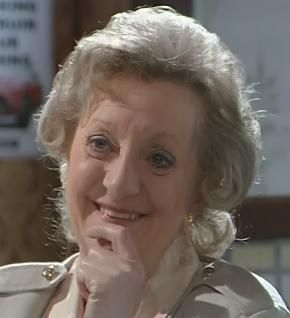 Mavis wilton- on the show from 1971 to 1997...married to Derek Wilton.