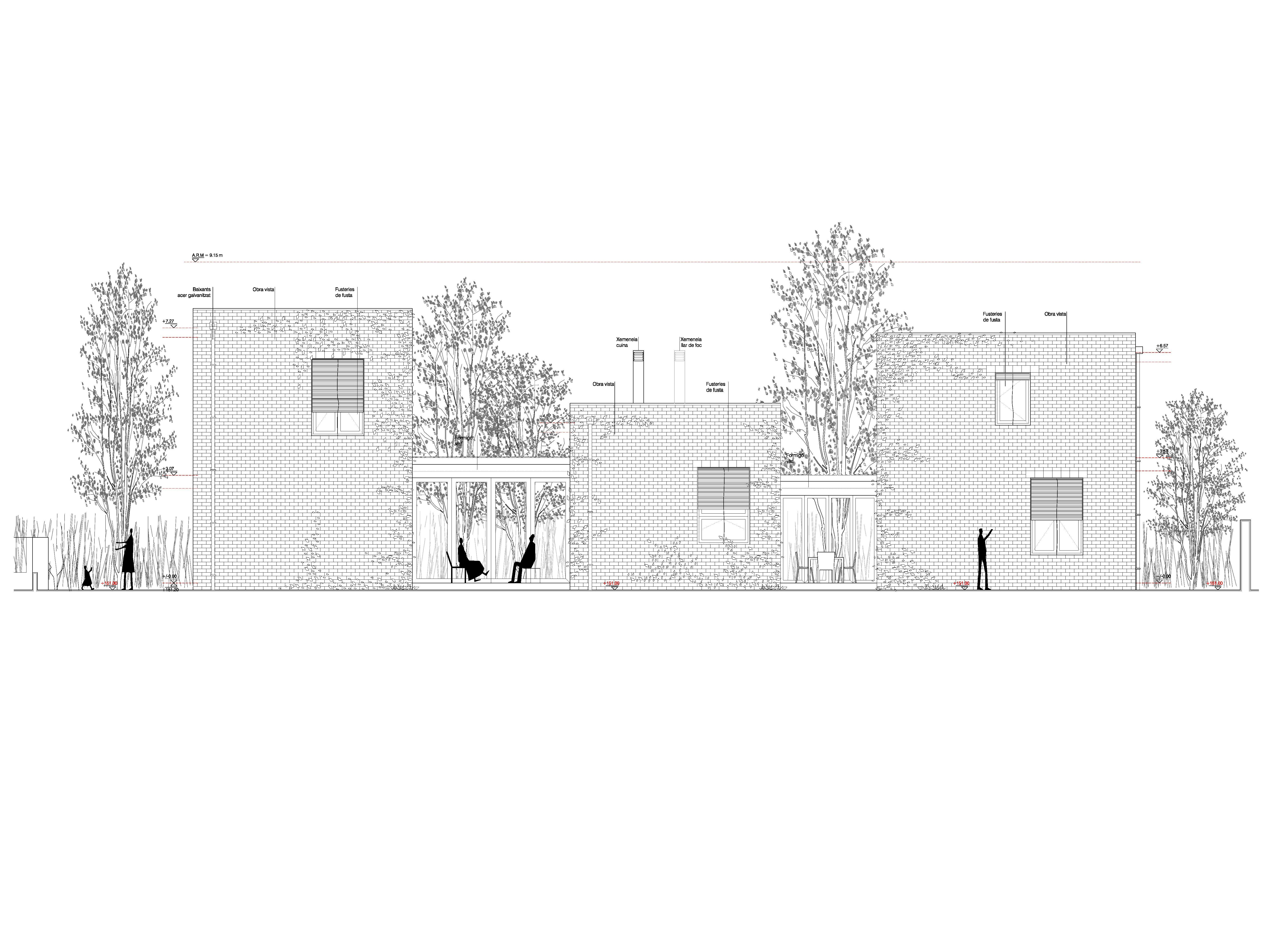 Hic arquitectura h arquitectes casa 1101 sant cugat - Arquitectura sant cugat ...