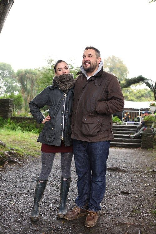'The perfect Barbour couple.' - Literally my style - Me and the fella for #barbourpeople