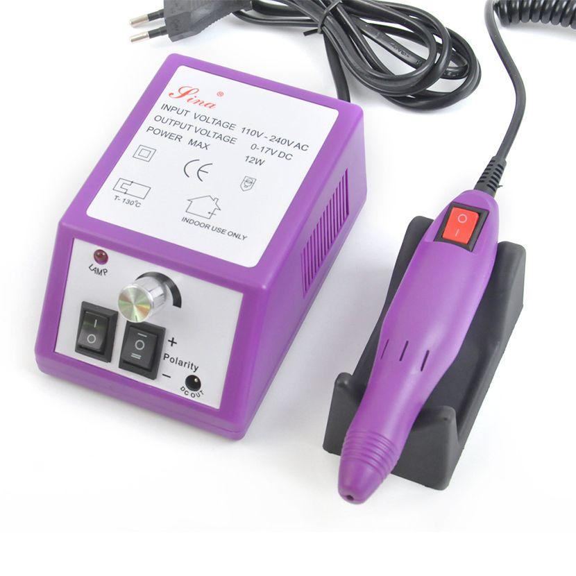 US/EU/UK Plug Nail Drill Manicure Machine 20000 RPM Electric Nail ...