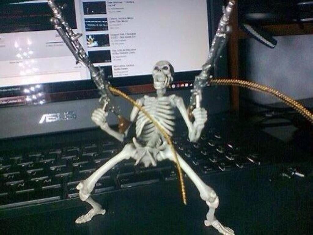 15 Top Waiting Skeleton Meme Images & Photos   QuotesBae  Skeleton Laughing Meme