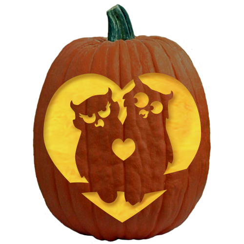 Hundreds of original pumpkin carving patterns by the for Fairytale pumpkin carving ideas