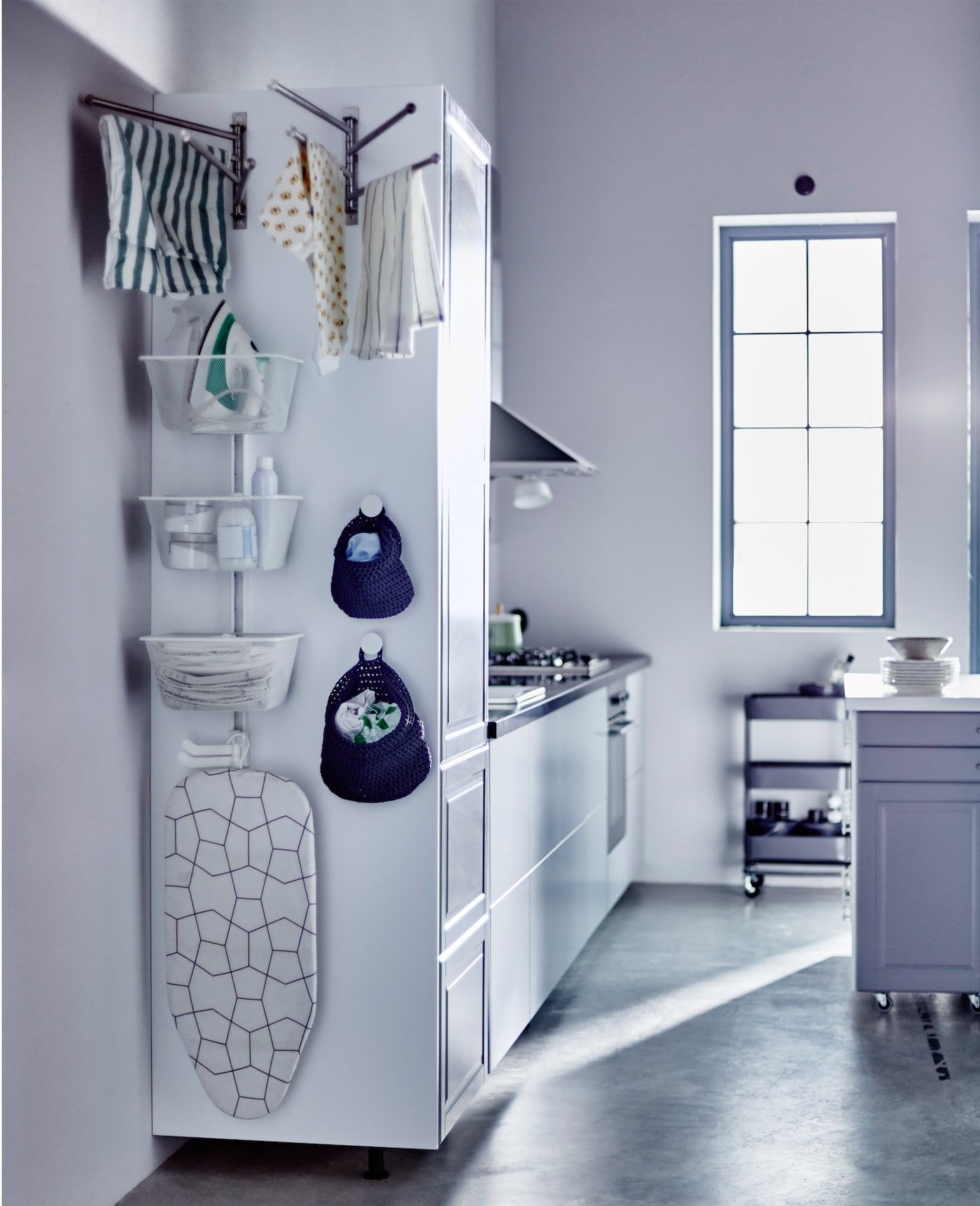 Awkard no more: the sides of kitchen cabinets | Tall kitchen ...
