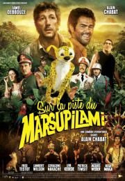Sur la piste du Marsupilami        Sur la piste du Marsupilami      HOUBA! On the Trail of the Marsupilami  Ocena:  5.50  Žanr:  Adventure Comedy Family  When reporter Dan Geraldo (Alain Chabat) arrives in Palombia to hunt for a scoop he never suspects that he is about to make an incredible discovery... With his resourceful local guide Pablito (Jamel Debbouze) Dan has one surprise after another during a thrilling adventure that allows him to bring the world some spectacular news: the…