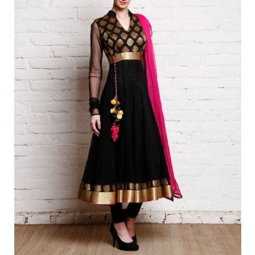Saiveera New Arrival Latest Black Anarkali Salwar Suit_1605 Saiveera Fashion is a #Manufacture Wholesaler,Trader, Popular Dealar and Retailar Of wide Range Salwarsuit,Dress Material,Saree,Lehnga Choli,Bollywood Collection Replica,Saree, Lehnaga CHoli and Also Multiple Purpose of Variety Such as Like #Churidar,Patiala,#Anarkali,Cotton,Georgette,Net,Cotton,Pure Cotton Dress Material. For Any Other Query Call/Whatsapp - +91-8469103344.