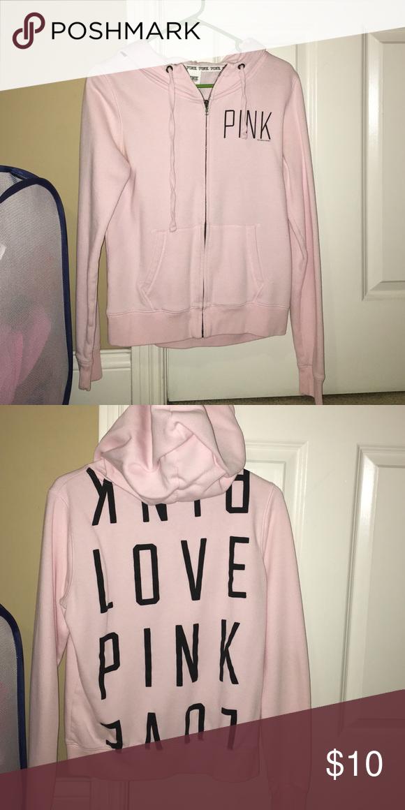 victoria secret pink jacket comfy pink jacket PINK Victoria's Secret Jackets & Coats