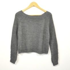 Jersey corto gris