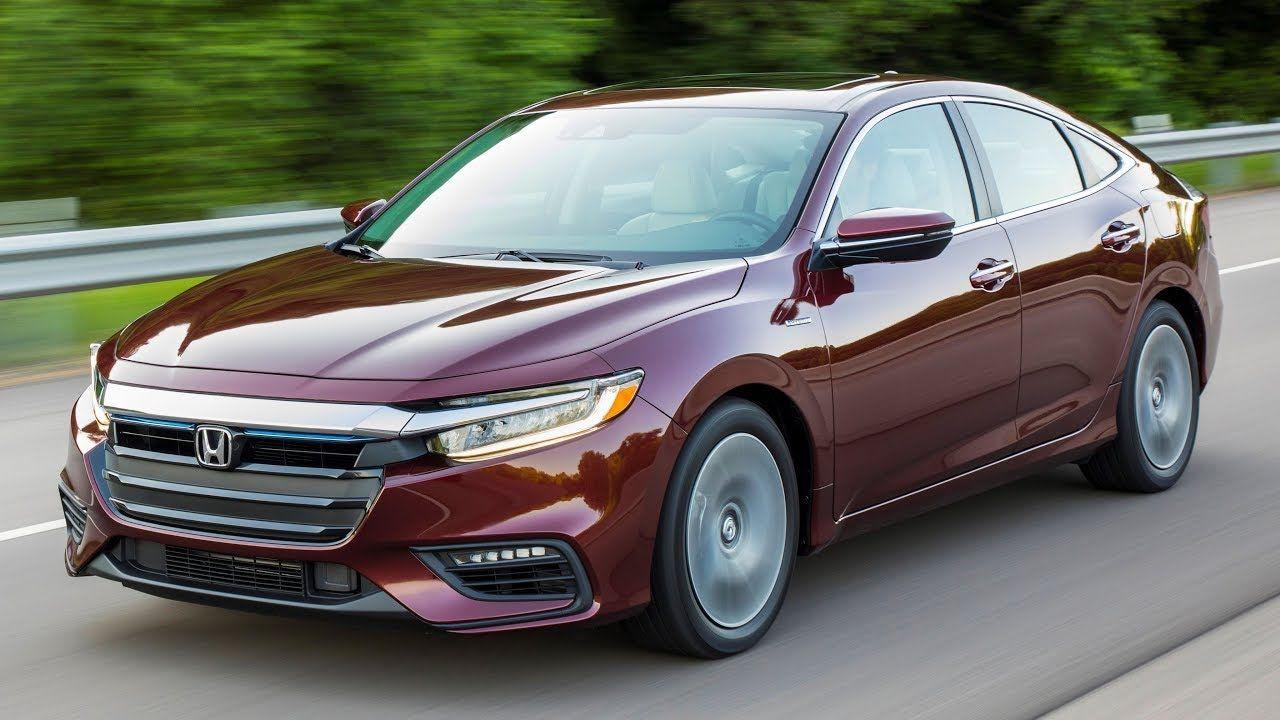 2019 Honda Insight Interior Exterior And Drive Honda Insight Honda Honda Civic Sedan