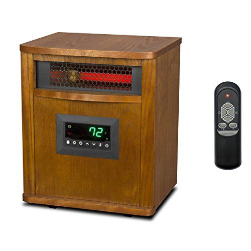 Lifesmart Lifepro 6 Element 1500w Portable Electric Infrared Quartz Space Heater Review Infrared Heater Portable Heater Home Heating Systems