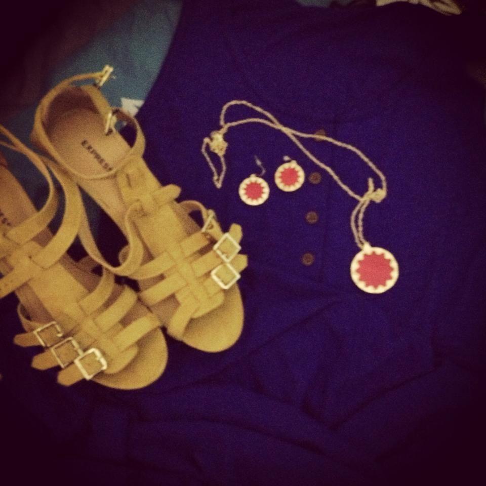 Dress/Jewlrey form Versasa.com Shoes from Express