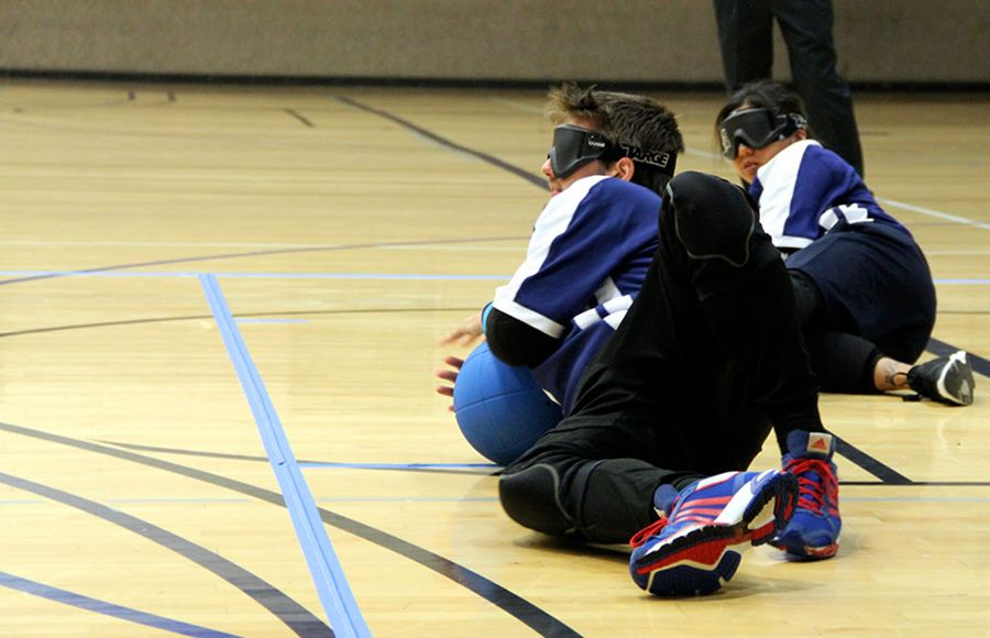 Quot Visually Impaired Students Score In Campus Goalball Team