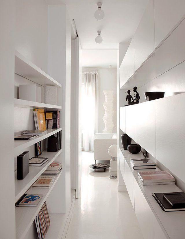 Deco Couloir Long Sombre Etroit 12 Idees Pour Lui Donner Du Style Decorer Un Couloir Couloir Long Comment Decorer Un Couloir