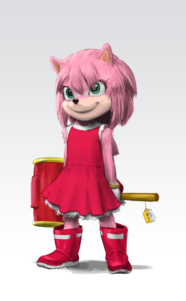 Little Amy Rose By Https Www Deviantart Com Joeadok On Deviantart Sonic Costume Kids Cartoon Characters Amy Rose