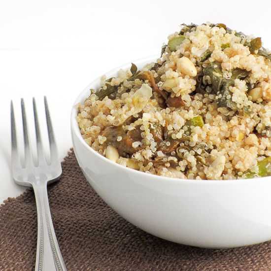 Photo of Lemon and Garlic Vegetable Quinoa