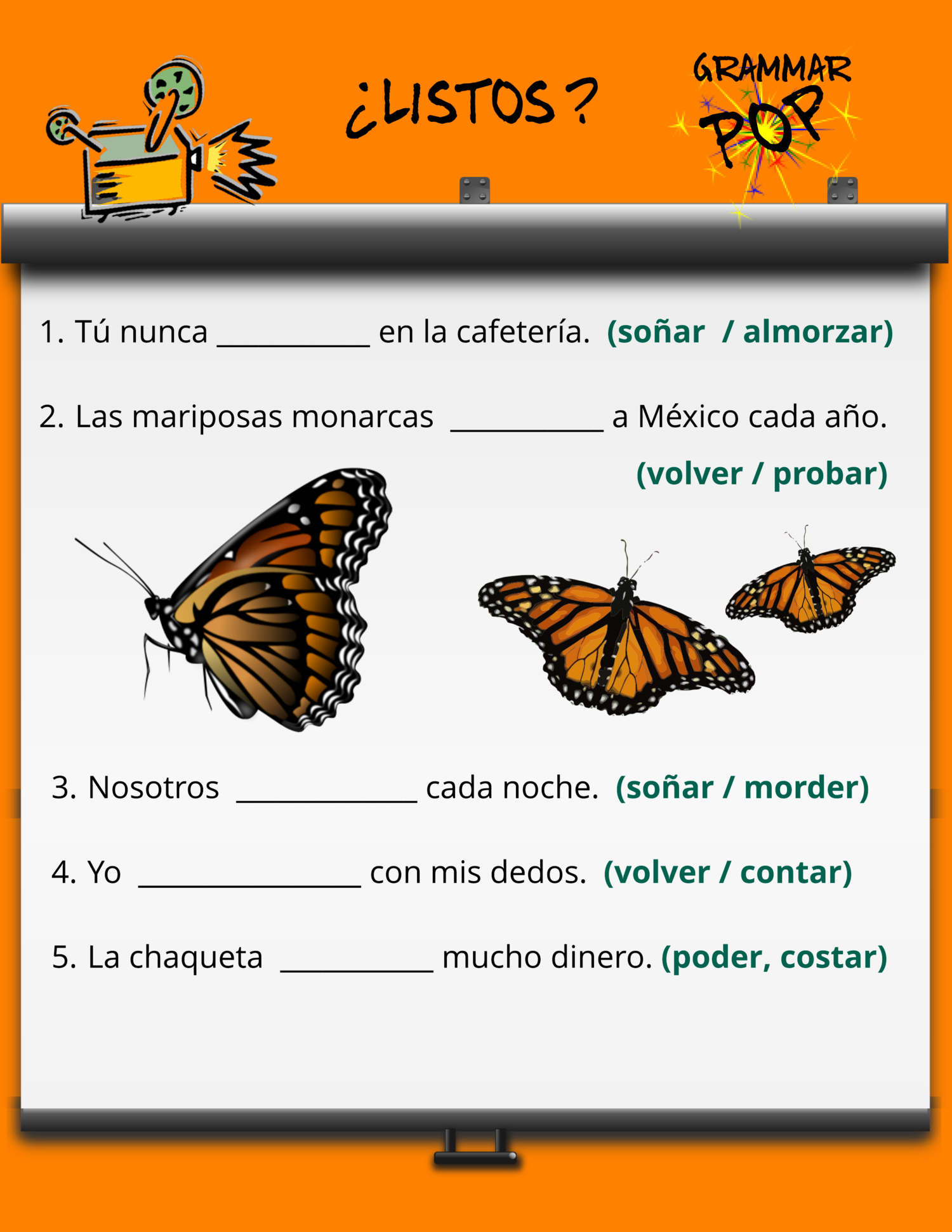 How To Teach The Boot Verbs In Spanish Radical Stem