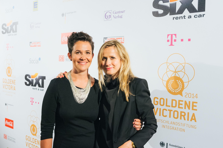 Sonja Koppitz und Felicia Mutterer