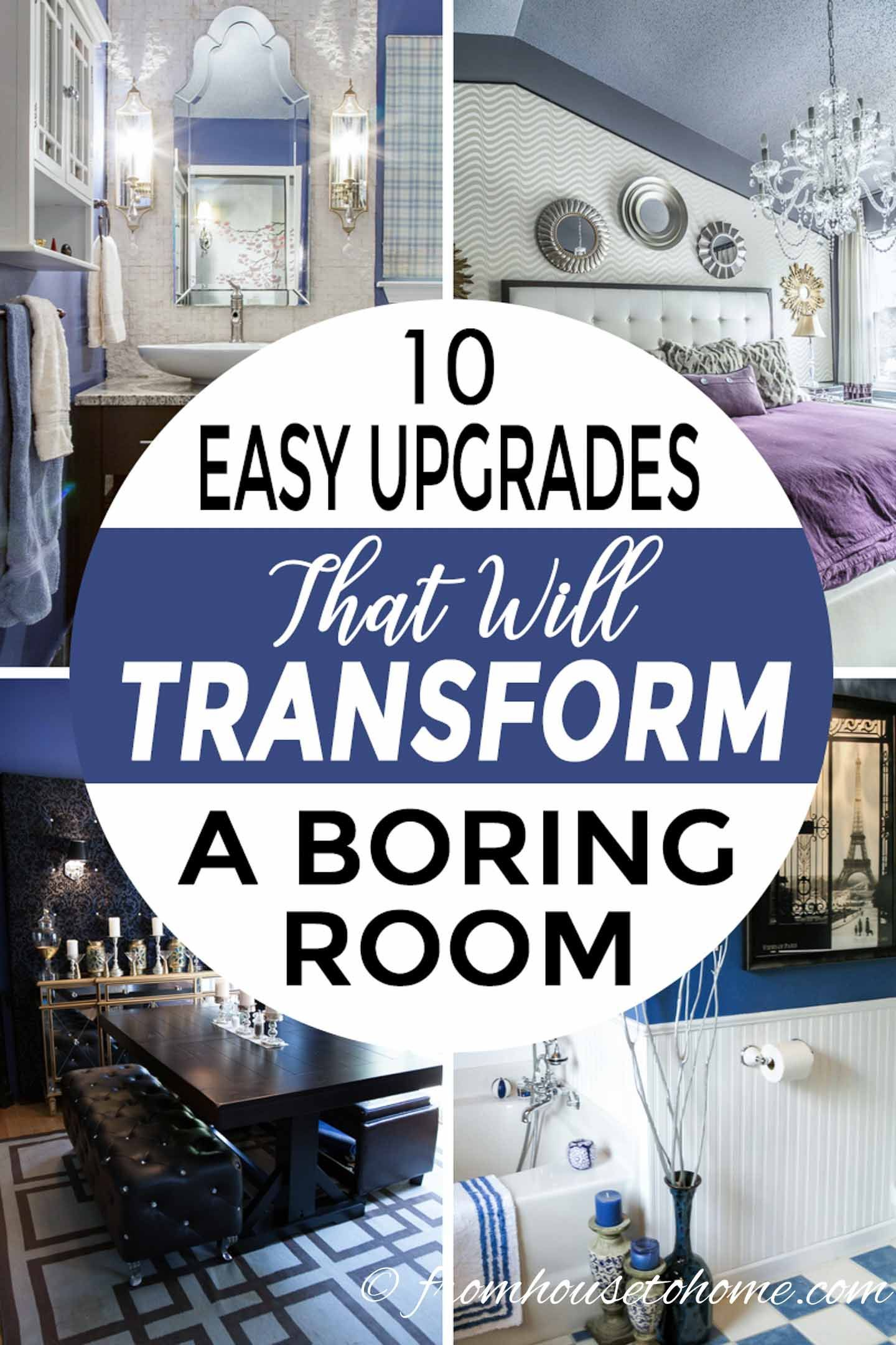 Diy projects for bedroom pinterest architectural details  easy ways to upgrade a boring room