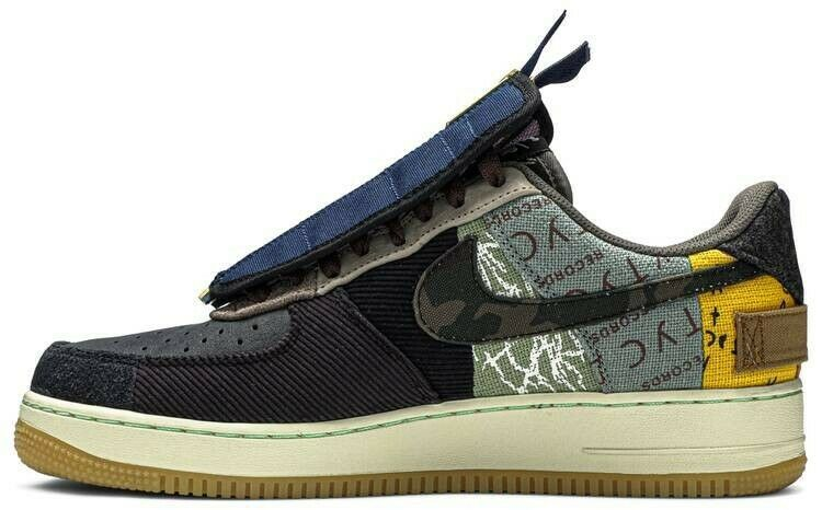 Travis Scott Air Force 1 Cactus Jack Low Sz 9 In 2020 With