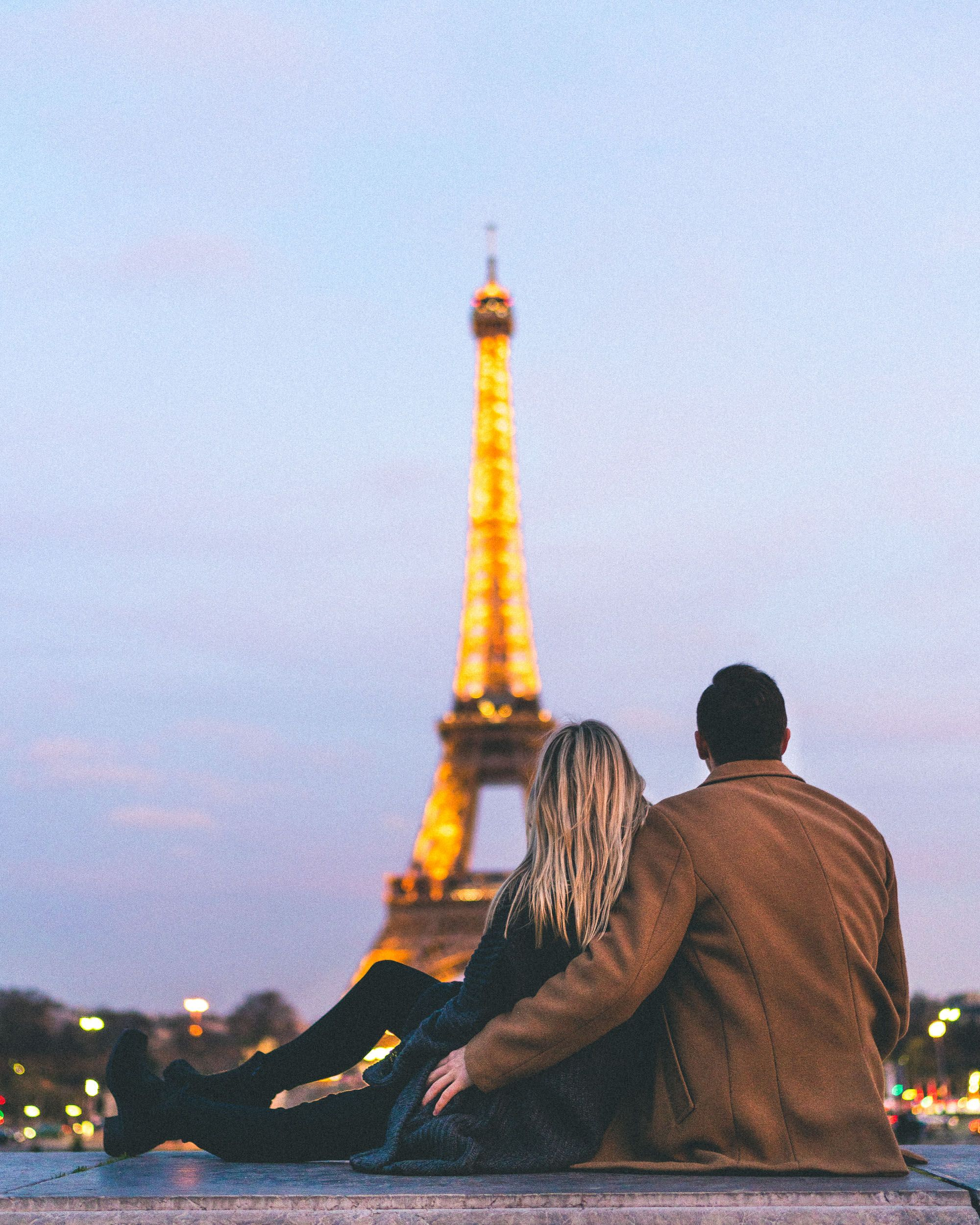 The eiffel tower at sunset romantic paris activities complete