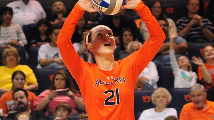 Volleyball Position Preview Setters Auburn University Athletics
