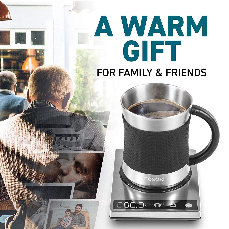 Cosori coffee mug warmer and mug set premium 24watt