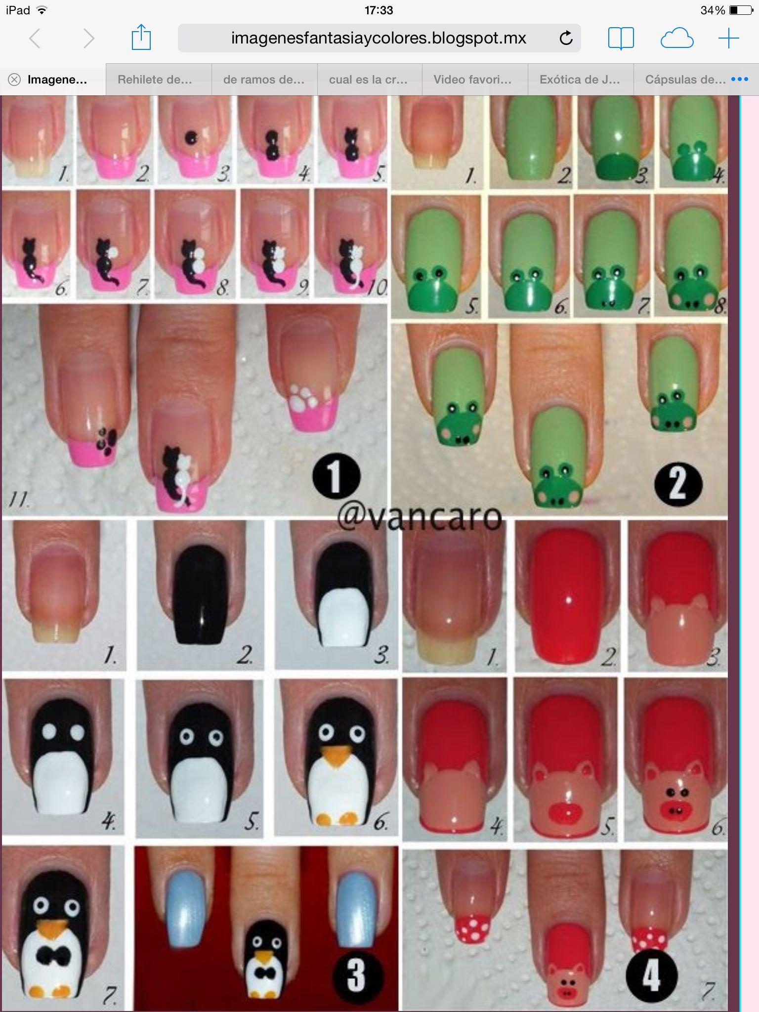 Varios diseños a escoger   Nail Designs   Pinterest   Manicure, Nail ...