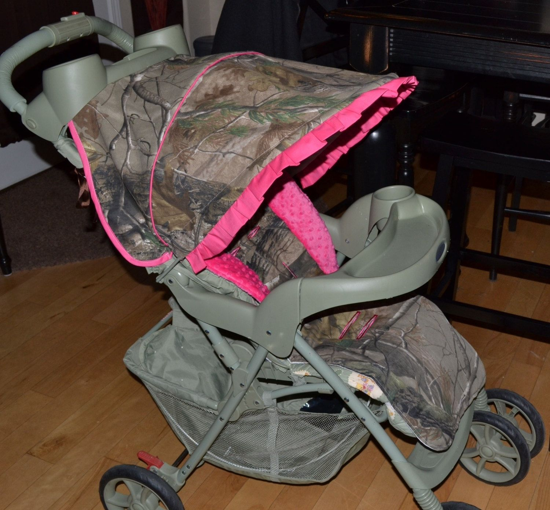 Stroller Cover Camo Fuchsia By Sewpreciousbaby On Etsy 10000