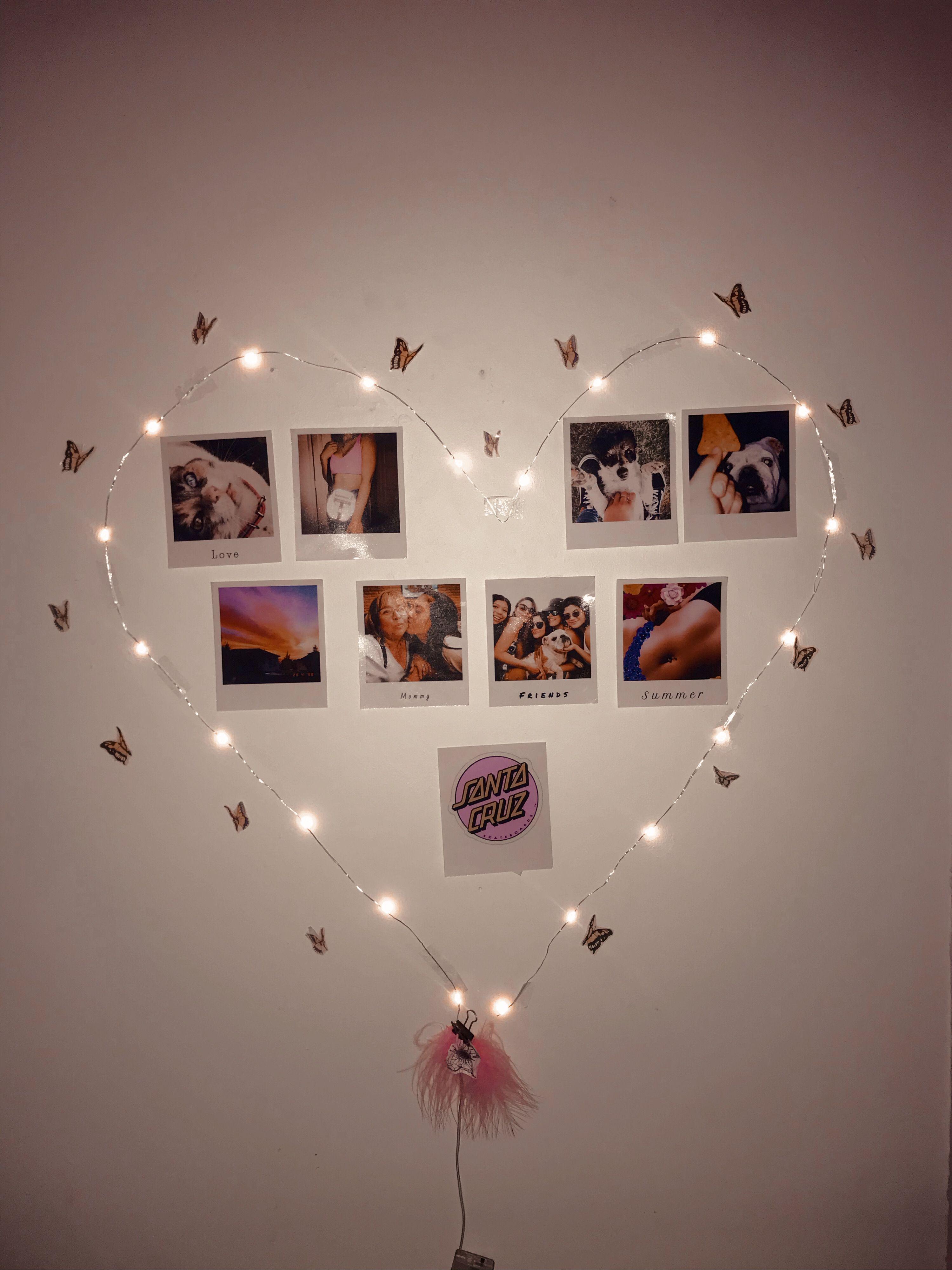 36+ Cuartos decorados con luces ideas