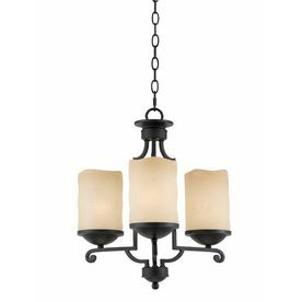 Triarch International Granada 3 Light Bronze Blacksmith