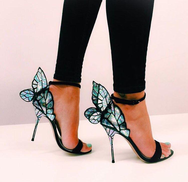 Sofia Webster | Butterfly heels, Heels